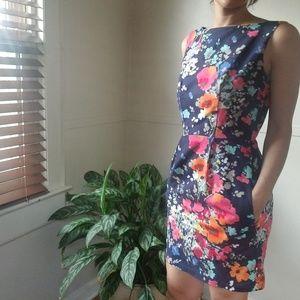 Liz Alig Floral Dress w/ Pockets